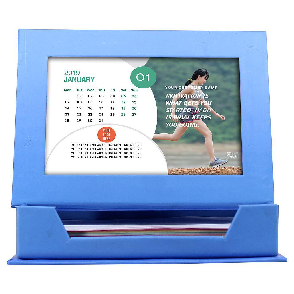 Desk Calendar - Theme - Fitness