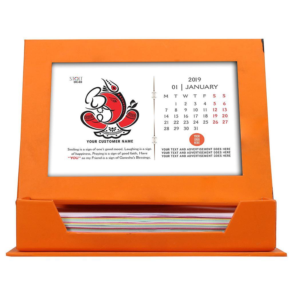 Desk Calendar - Theme - Ganesha