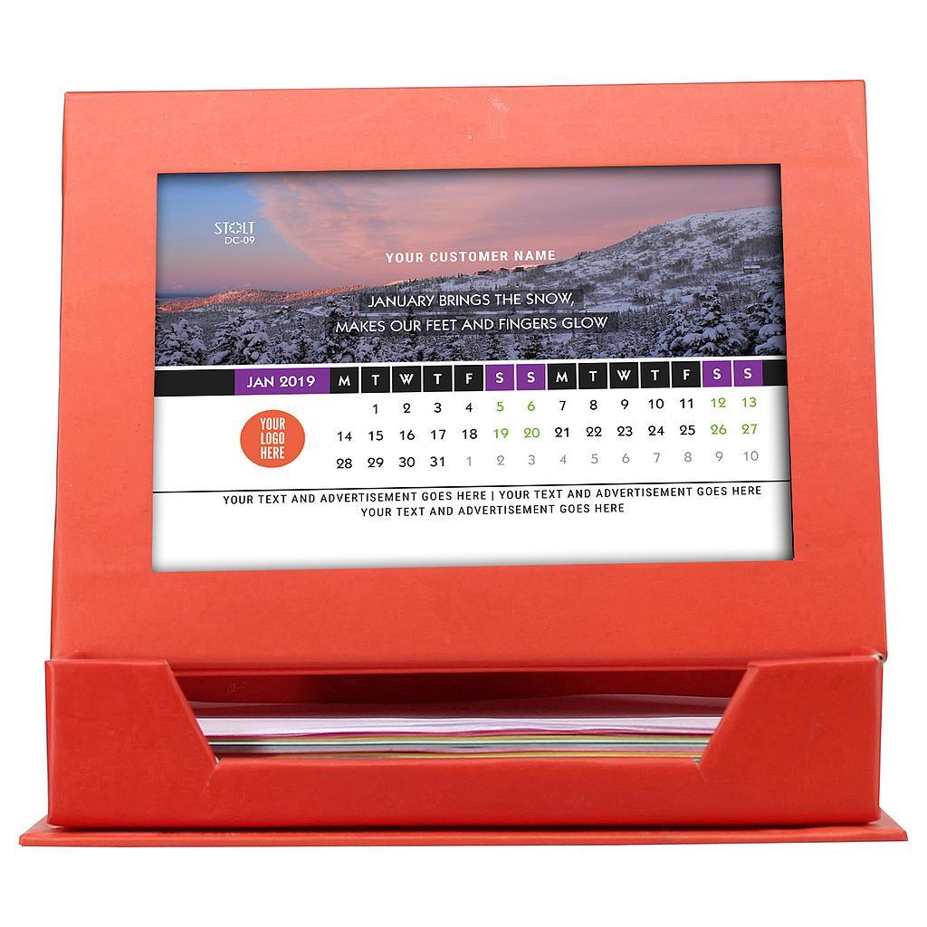 Desk Calendar - Theme - Nature
