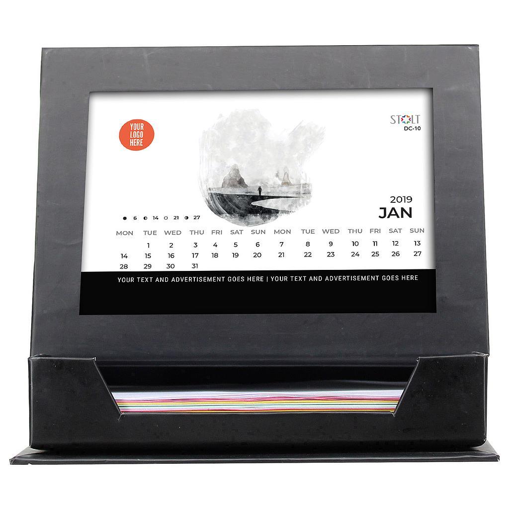 Desk Calendar - Theme - Paint