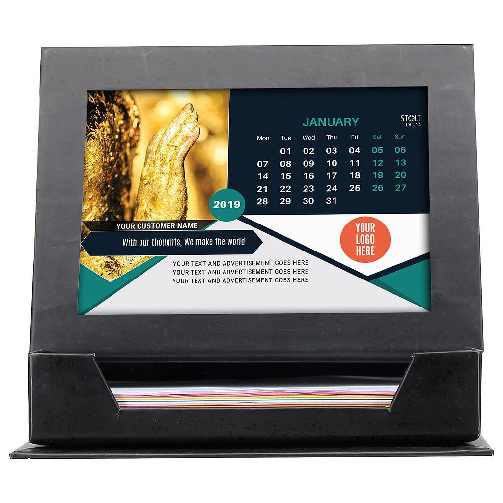 Desk Calendar - Theme - Buddha