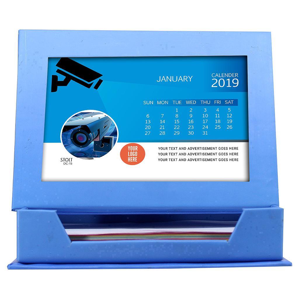 Desk Calendar - Theme - CCTV