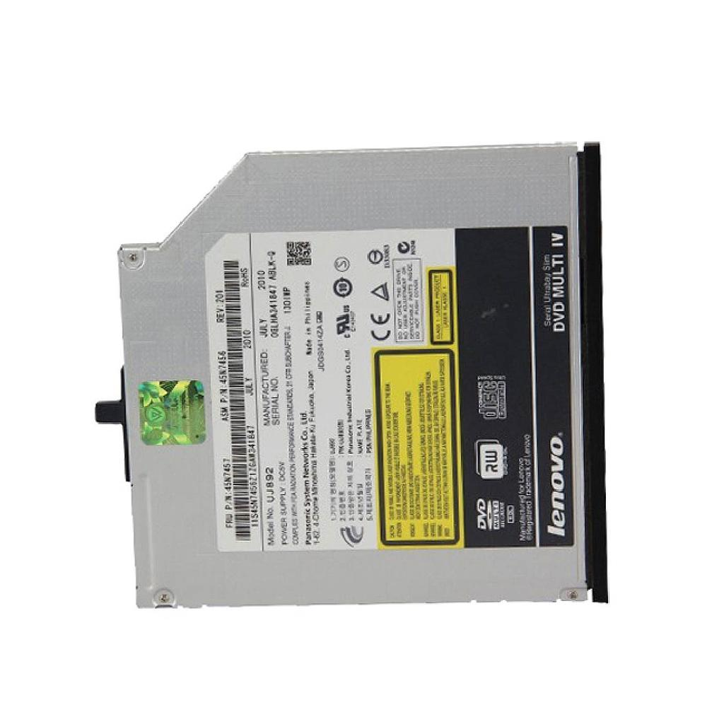 Lenovo T410 Laptop CD-RW DVD+RW Internal Optical Drive | UJ892