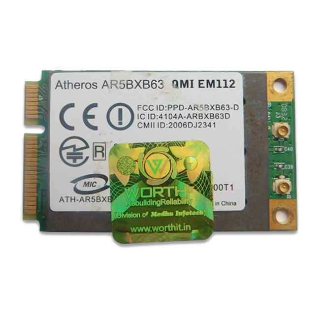 Dell Vostro 0P065X WIFI CARD For A840 | A860 Laptop