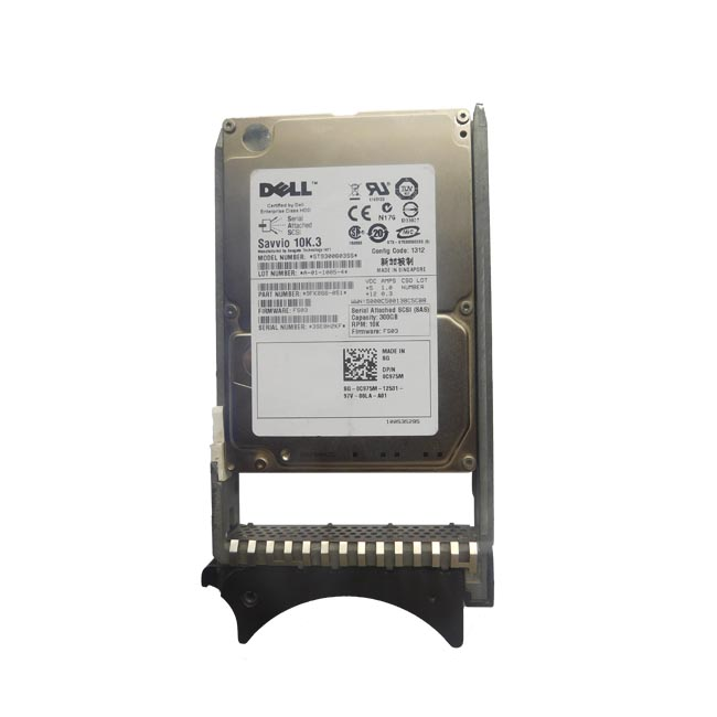 "Dell 300GB 10K RPM 2.5"" SAS Hard Drive