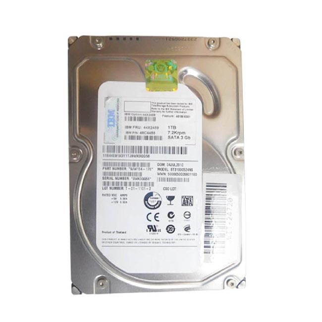 "IBM 1TB 7200RPM 3.5"" SATA Server Hard Drive