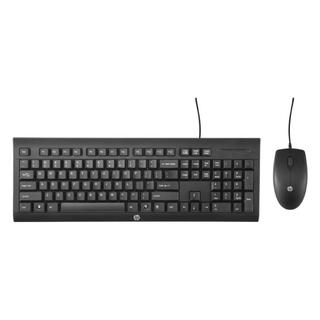 HP C2500 USB Wired Keyboard And Mouse (Combo)