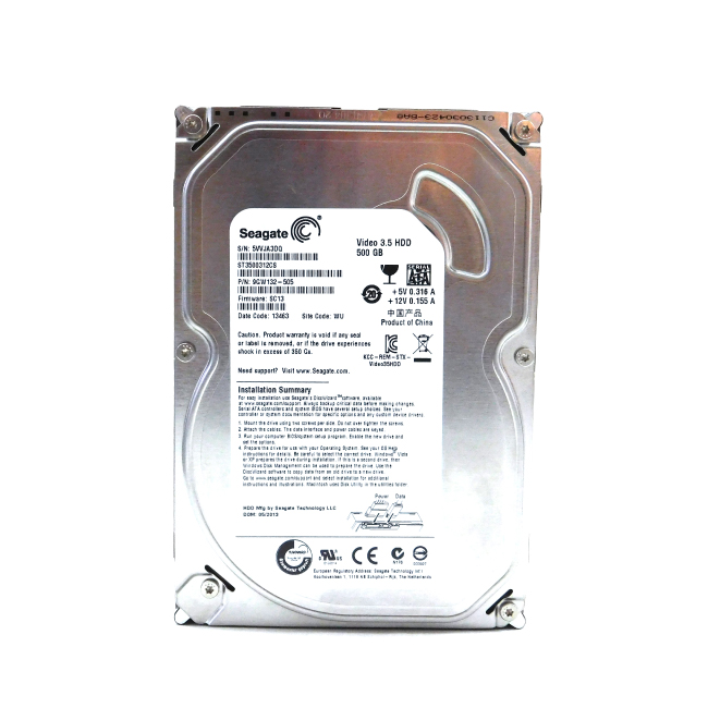 Seagate 500GB SATA 5900RPM Desktop Hard Disk|ST3500414CS