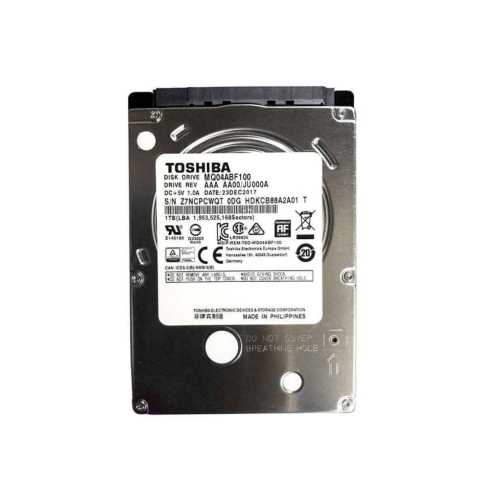 "Toshiba 1TB SATA 5,400RPM 2.5"" Laptop Hard Disk|MQ04ABF100"