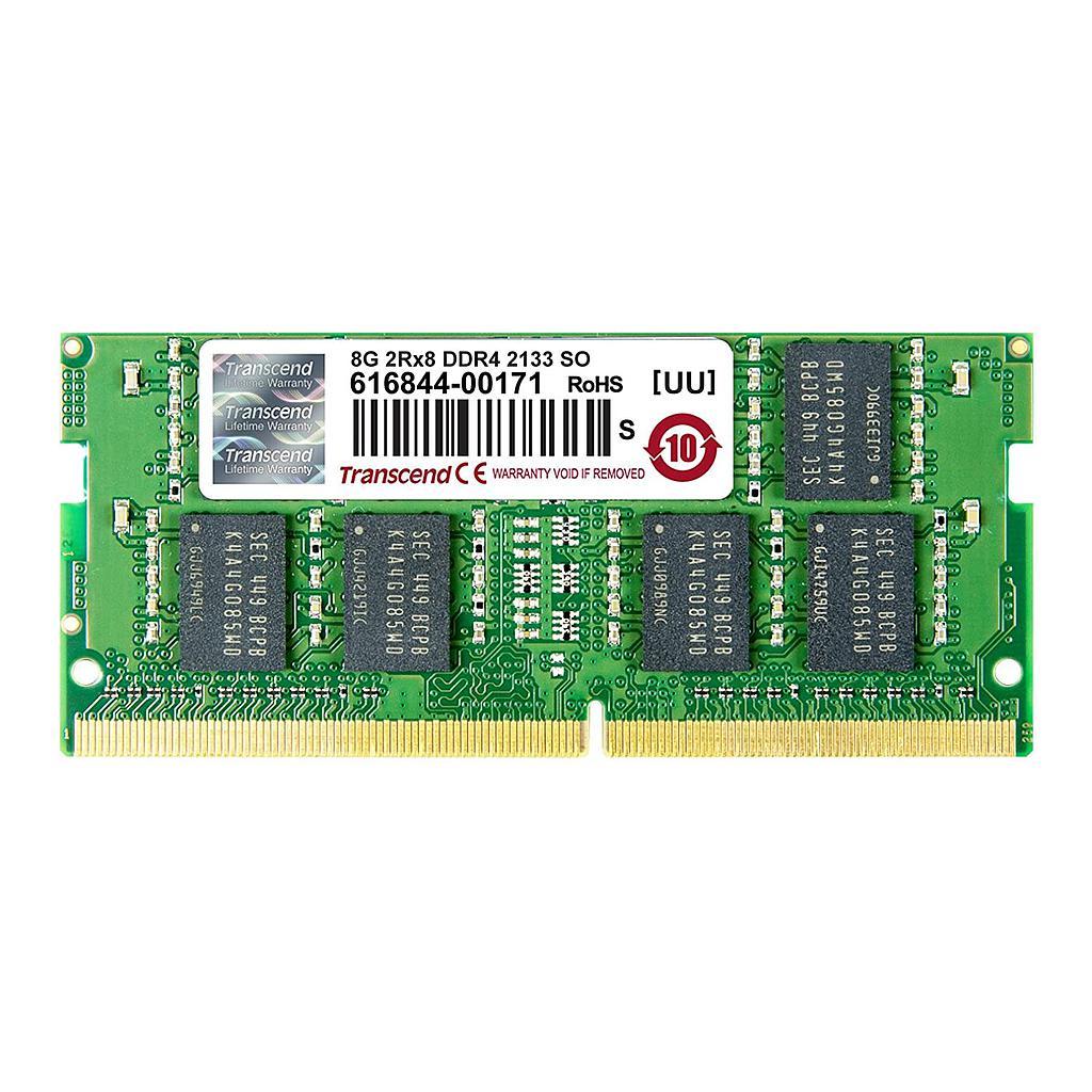 Transcend 8GB DDR4 2133Mhz Laptop RAM (OEM)