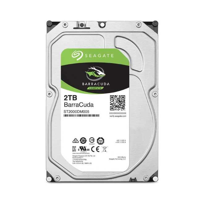 "Seagate 2TB SATA 5400RPM 3.5"" Desktop Hard Disk|ST2000DM005"