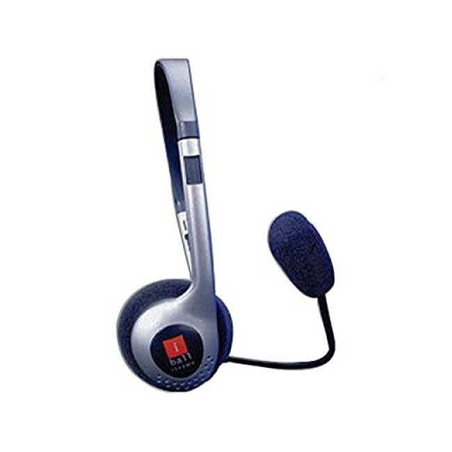 IBall I342MV Wired Over The Head Headphone With Mic