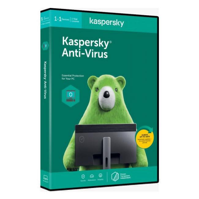Kaspersky Antivirus For 1 PC | 1 Year