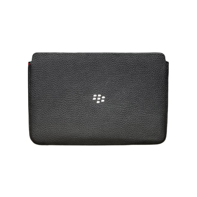 Blackberry PlayBook leather Sleeve Case - Black