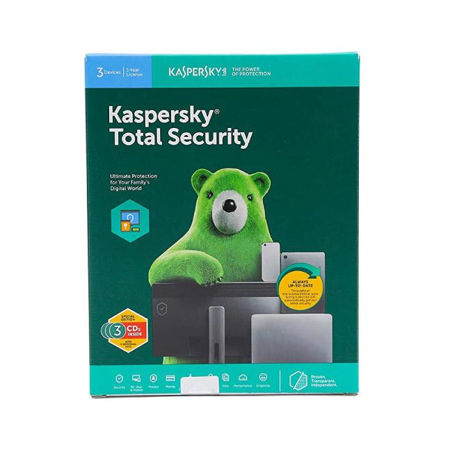 Kaspersky Antivirus For 3 PCs | 1 Year
