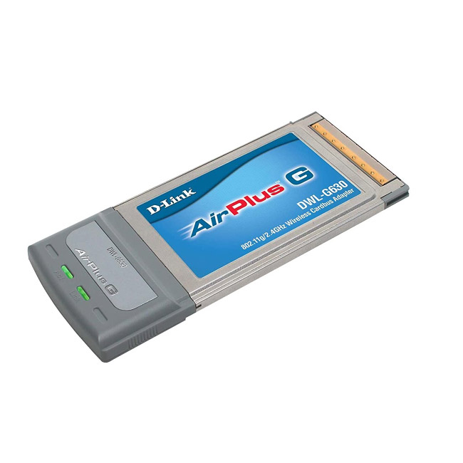 D-Link DWL-G630 AirPlus G 802.11g Wireless PC Card