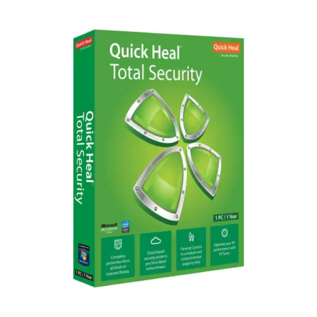 Quickheal Total Security 1 PC | 1 Year
