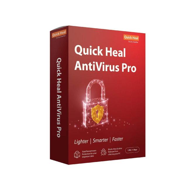 Quickheal Antivirus Pro For 1 PC | 1 Year