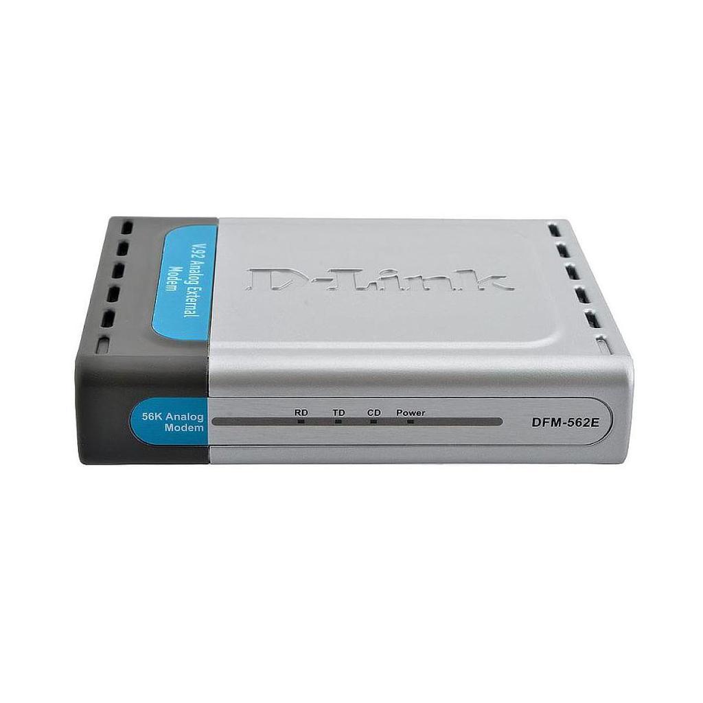 D-Link 562E High Speed External Serial 56K Modem