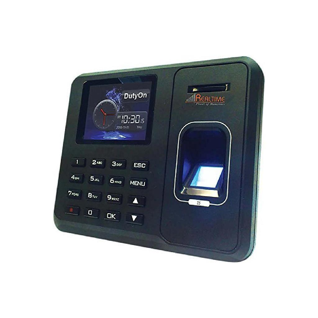 Realtime T5 Time and Fingerprint Attendance Biometric Machine