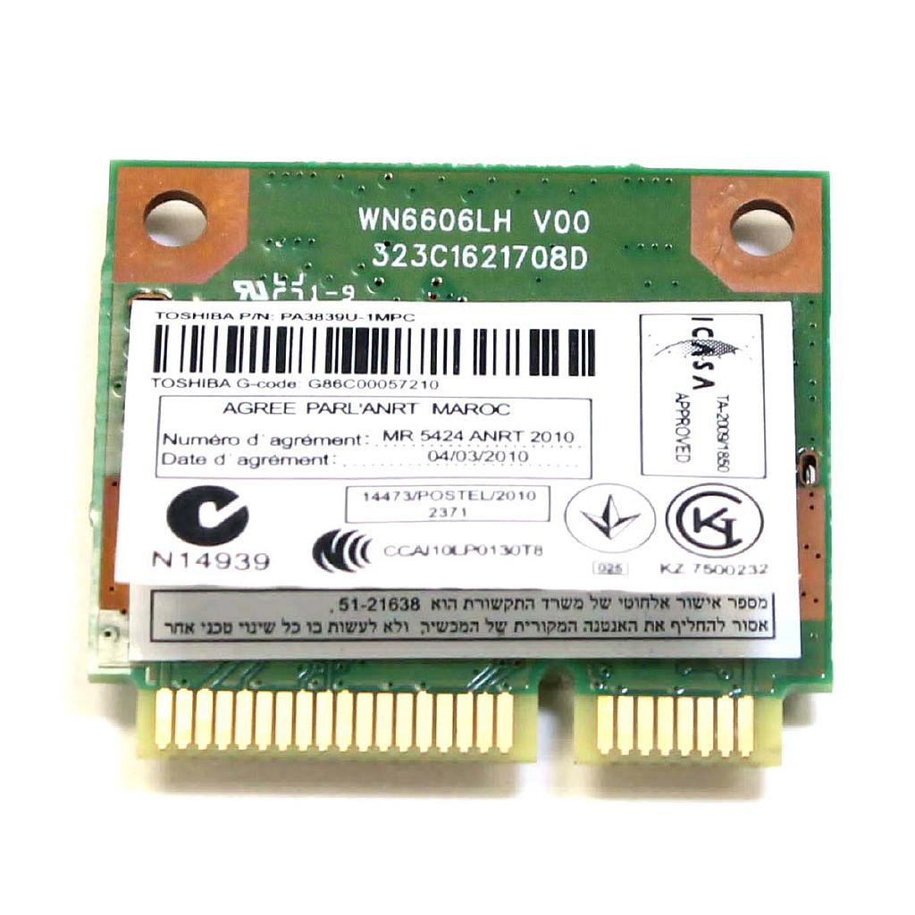 Laptop Accessories Toshiba Satellit C640 /L745 Wireless Card .