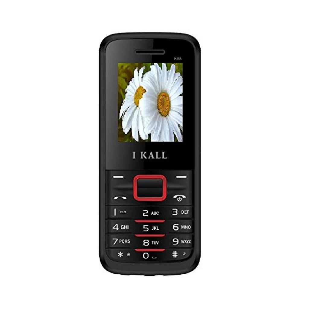 I-Kall K88 Dual Sim Multi-Media Feature Phone | Red