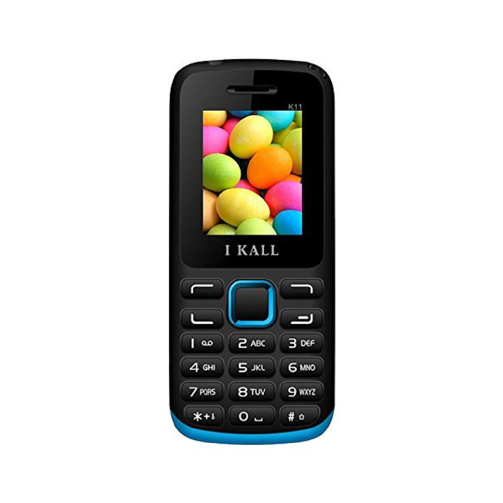 I-Kall K11 Slim & Sleek Dual Sim Feature Phone | Blue