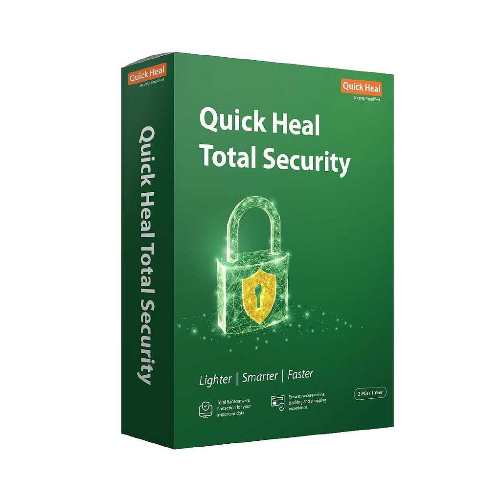 Quickheal Total security 3 PC | 1 Year