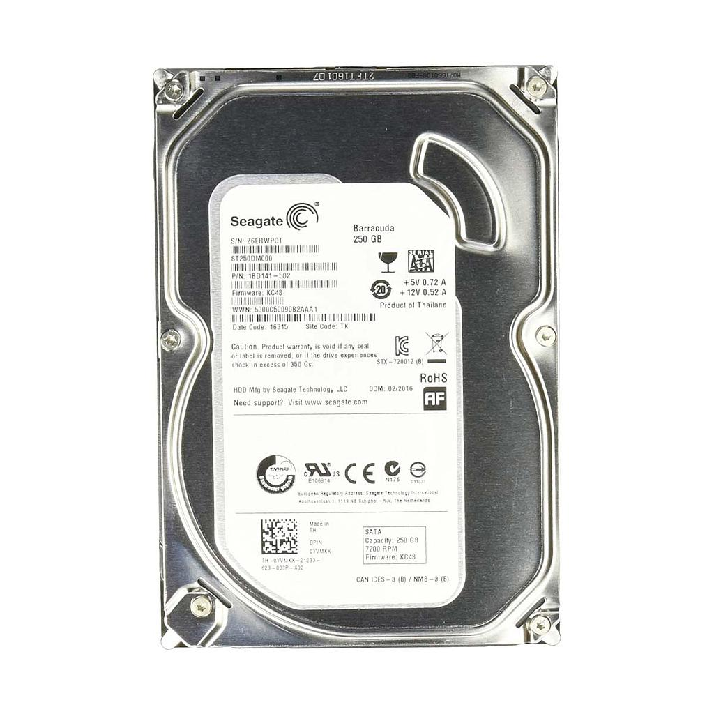 "Seagate 250GB SATA 7200RPM 3.5"" Desktop Hard Disk