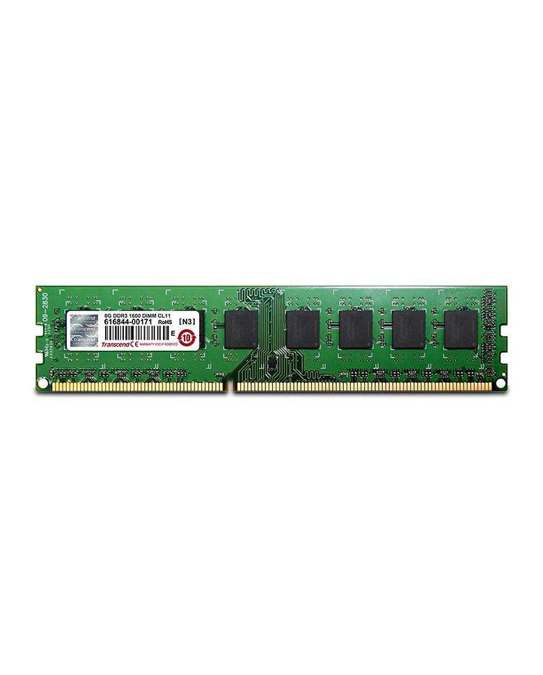Transcend 8GB DDR3L 1600Mhz 2Rx8 Desktop RAM