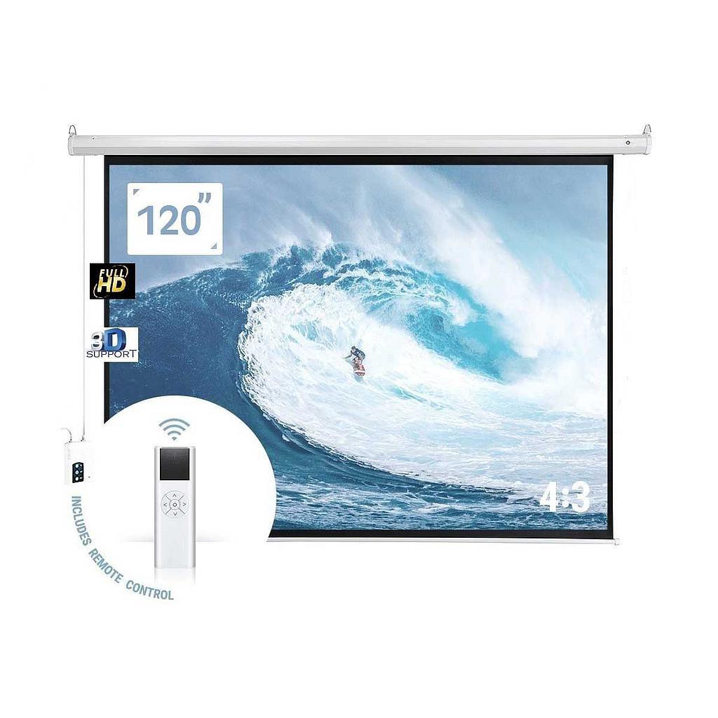 Visiontek Motorised 6X8 Projector Electric Screen