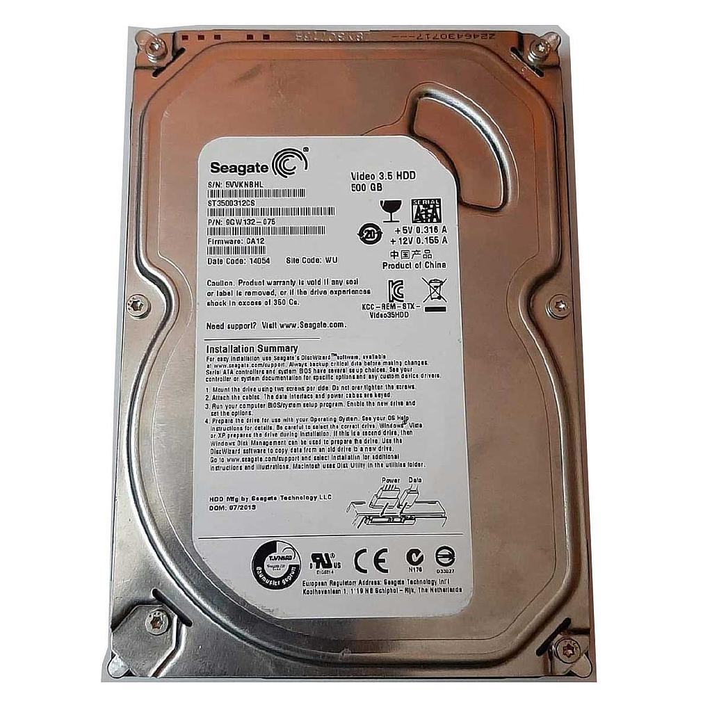 "Seagate 500GB SATA 5400RPM 3.5"" Desktop Hard Disk