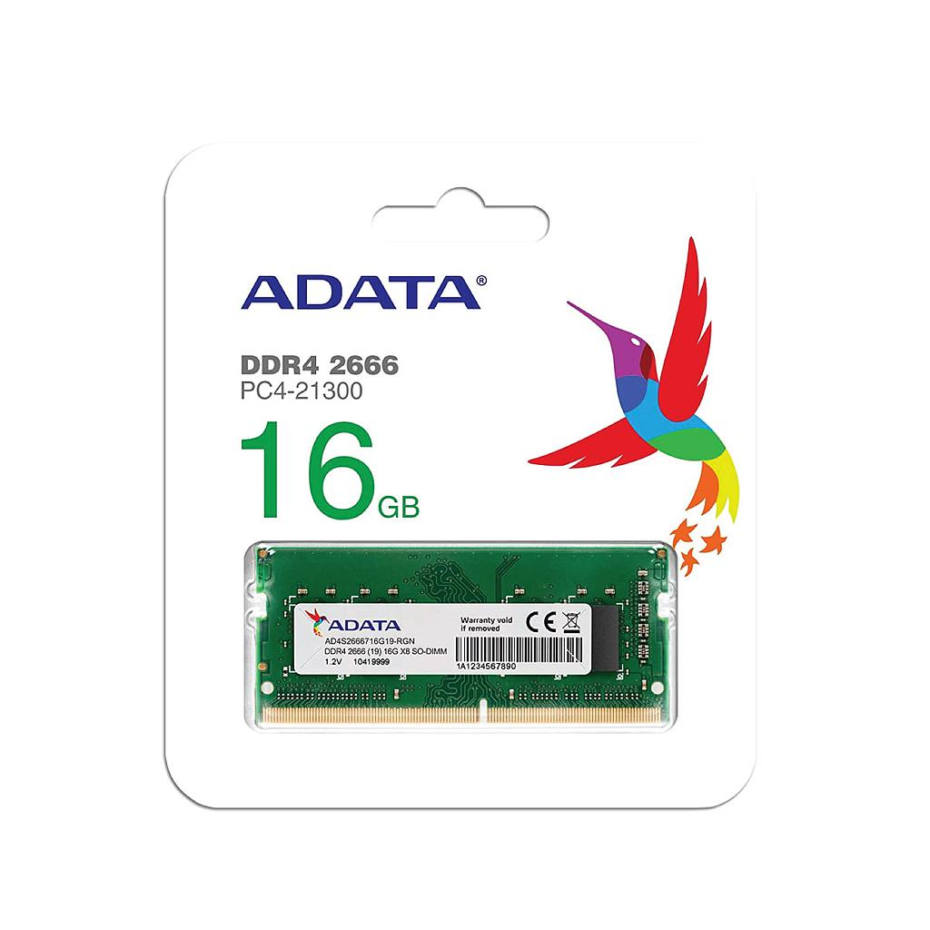 Adata 16GB DDR4 2666Mhz Laptop Internal RAM