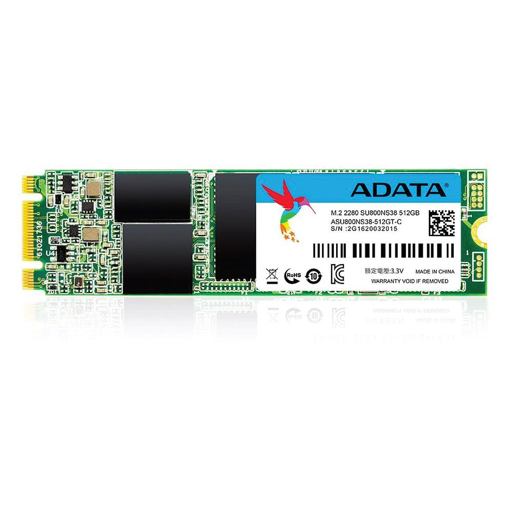 ADATA SU800 512GB SATA SSD M.2 2280 Hard Disk|ASU800NS38-512GT-C