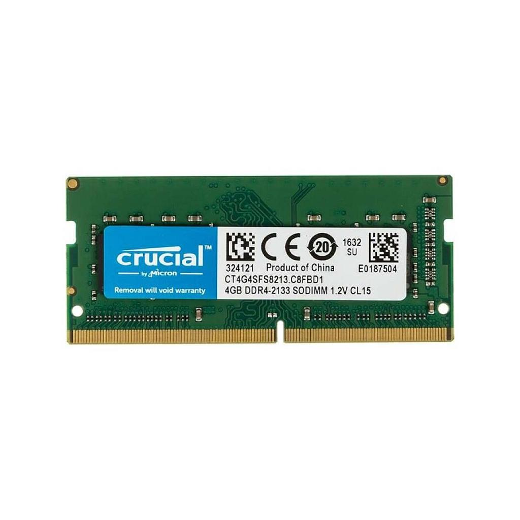 Crusial 4GB DDR4 2133MHz Laptop RAM