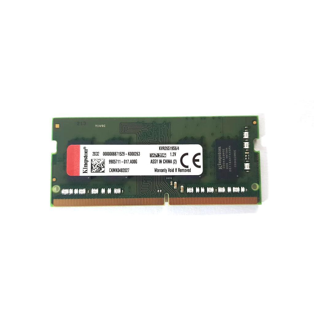 Kingston 4GB DDR4 2666MHz Laptop RAM
