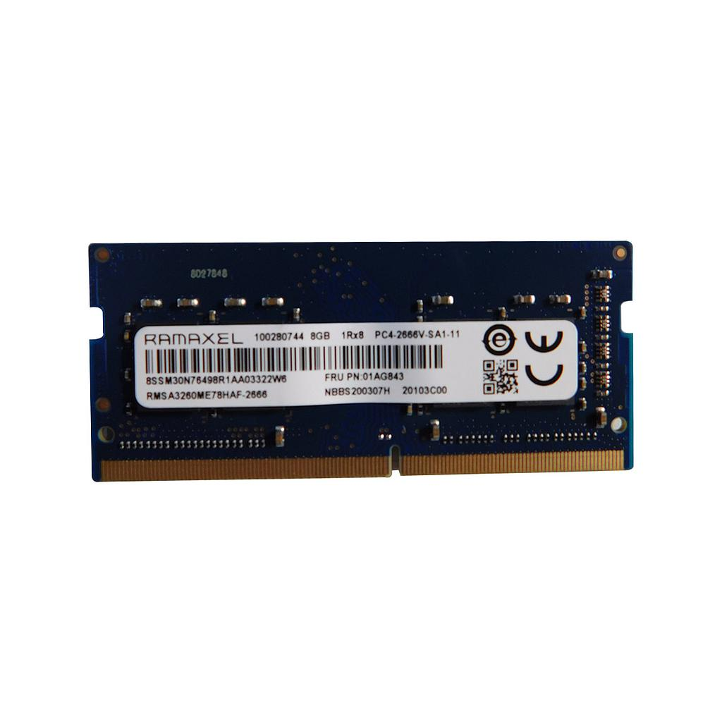 Lenovo Ramaxel 8GB DDR4 2666Mhz Laptop RAM