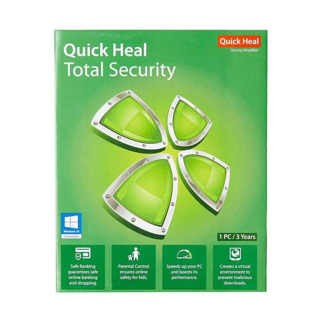 Quickheal Total Security :1 Pc 3 year