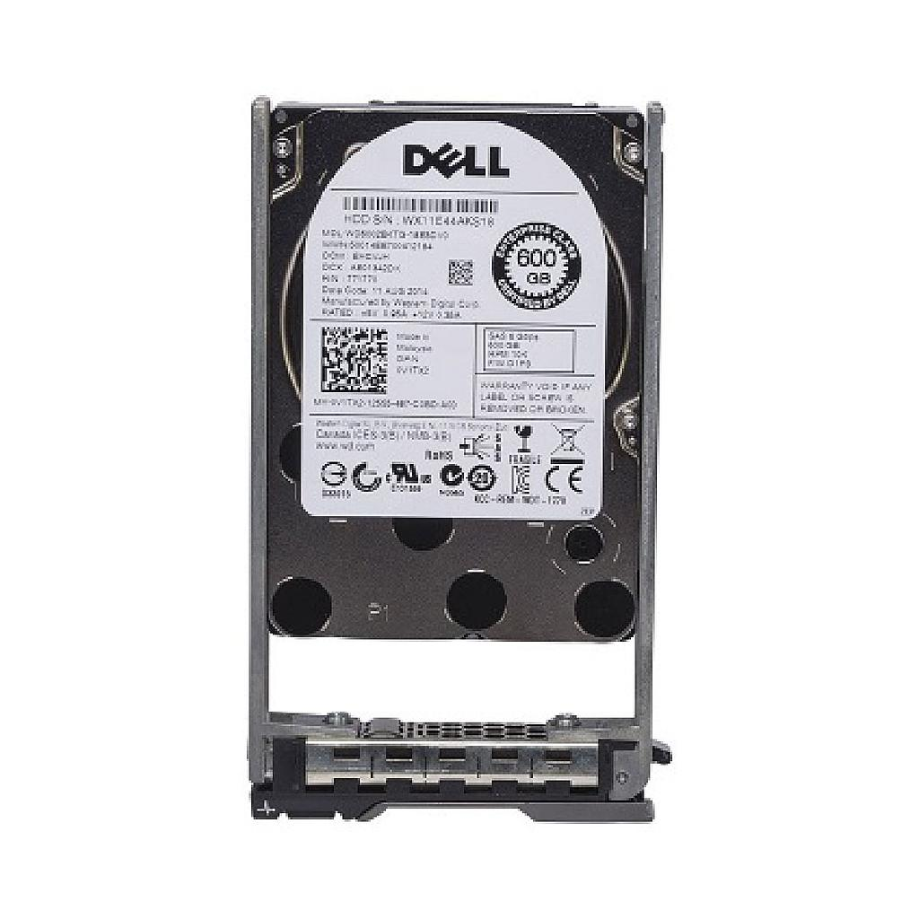 "Dell 600GB SAS 2.5"" 10K RPM Server Hard Disk"