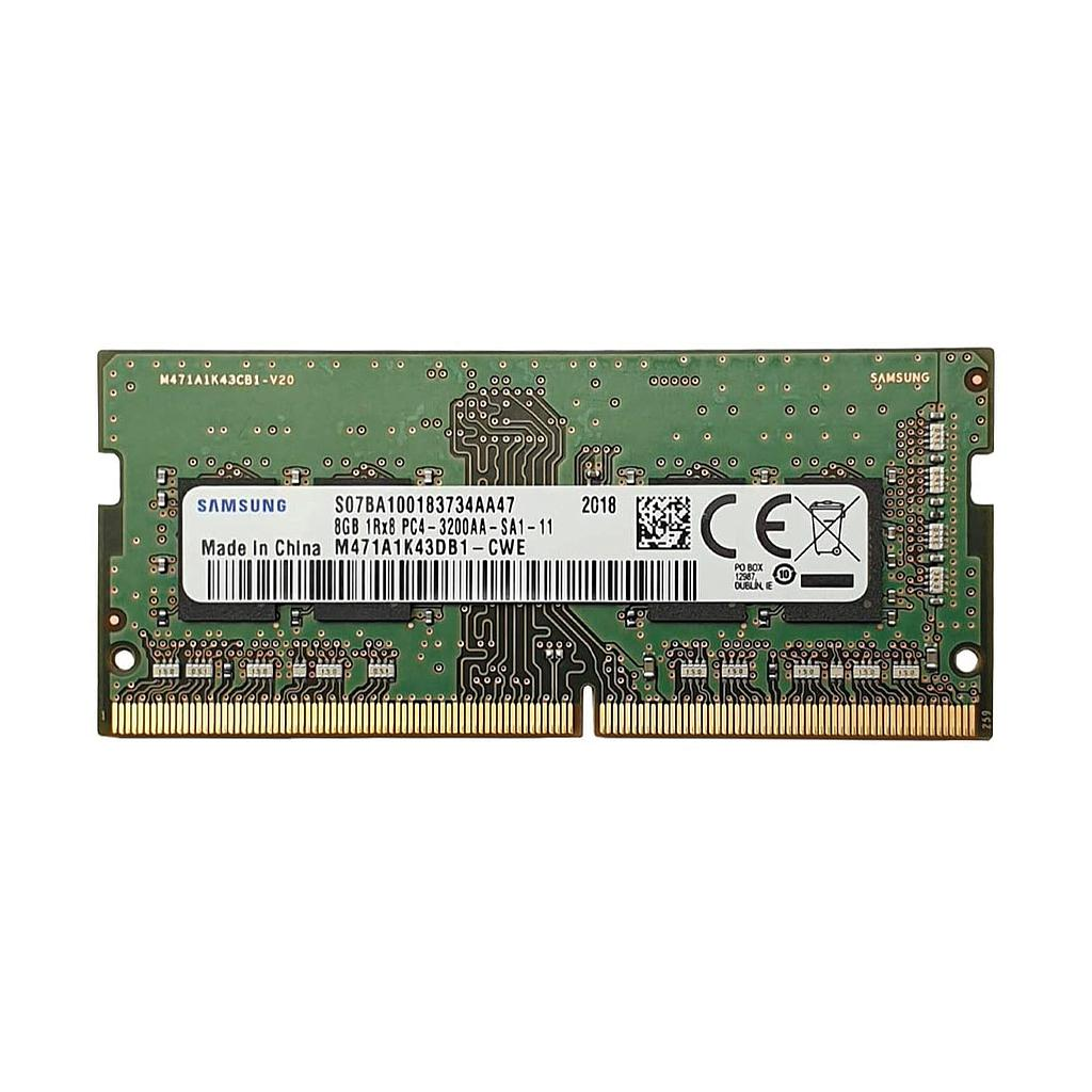 Samsung 8GB DDR4 3200MHz 1RX8 Laptop RAM