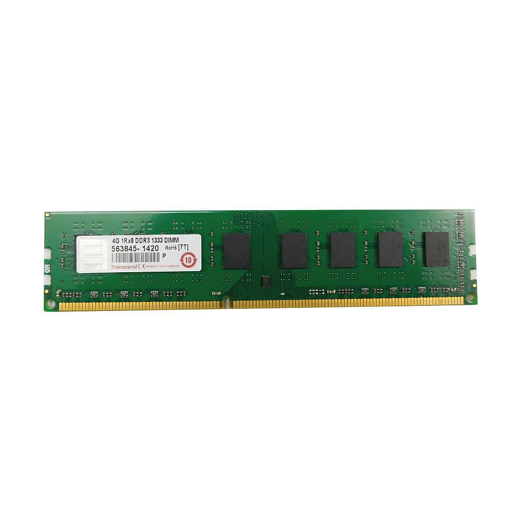 Trancend 4GB DDR3 1333Mhz 1Rx8 Desktop RAM