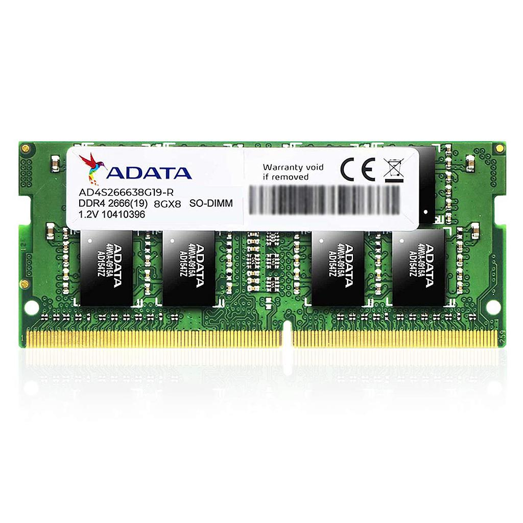 ADATA 8GB DDR4 2666MHz Laptop RAM