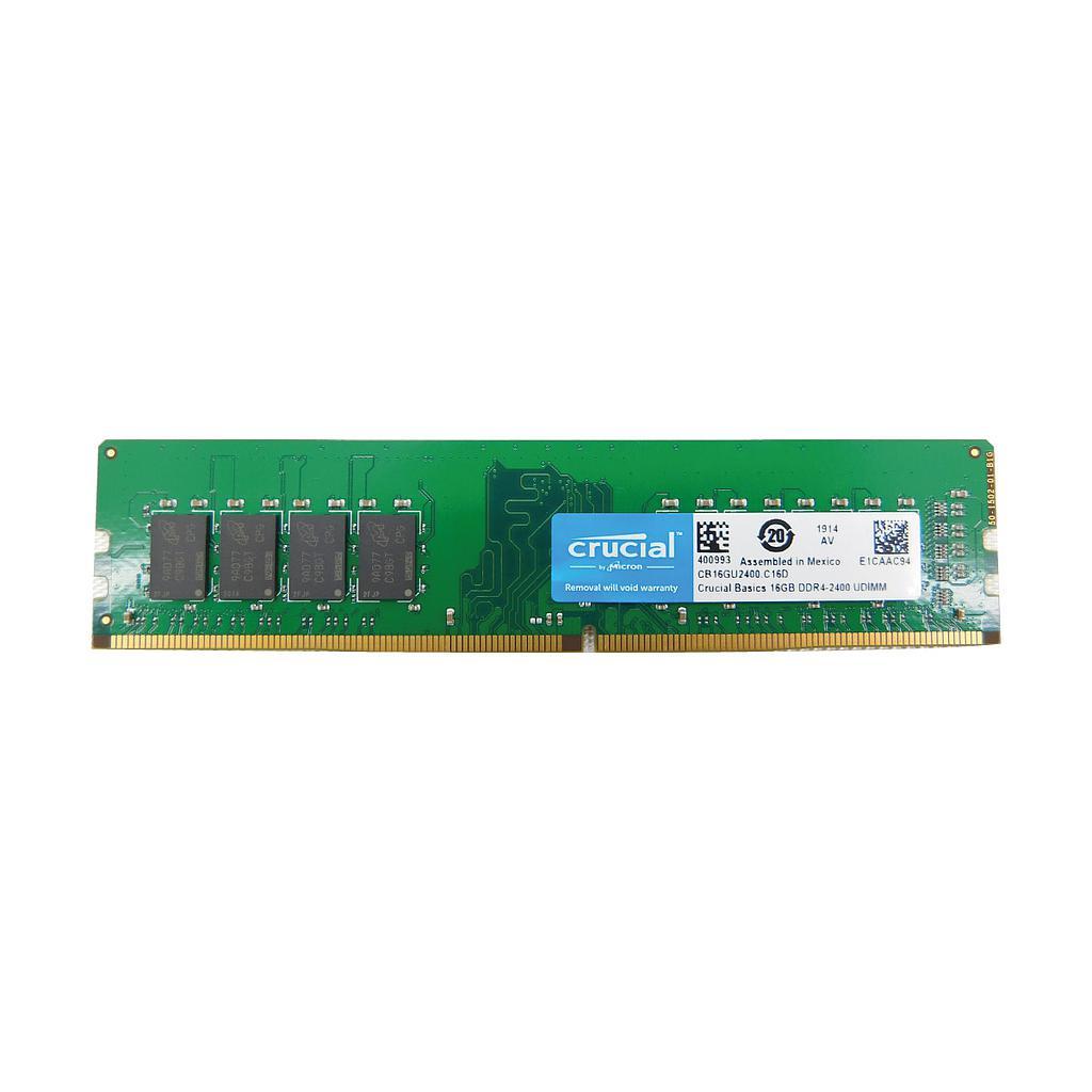 Crucial 16GB DDR4 2400MHz Desktop RAM