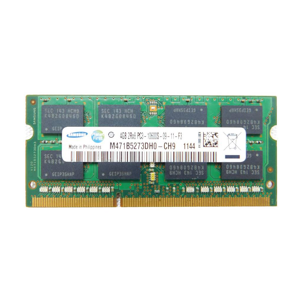 Samsung 4GB DDR3 1333MHz 2RX8 Laptop RAM