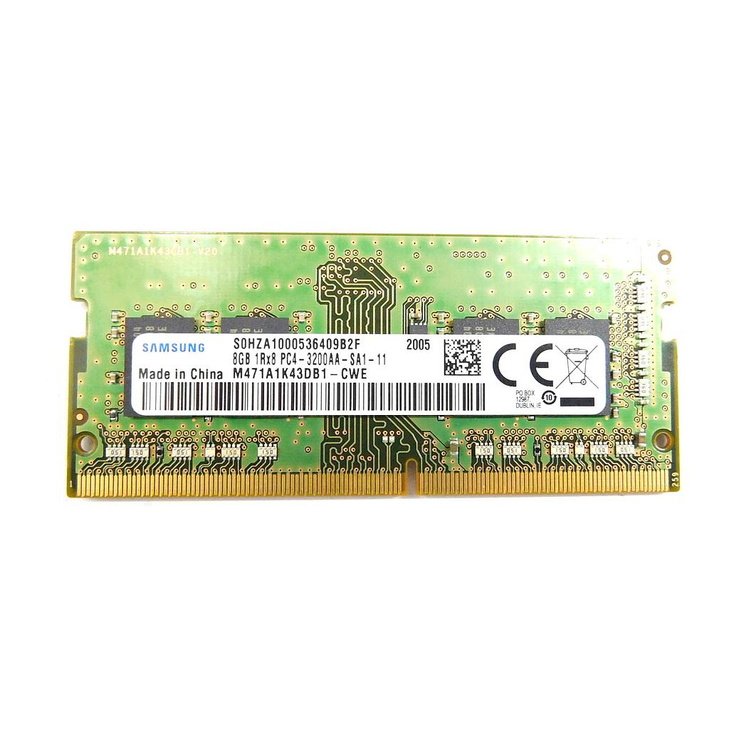 Samsung 8GB DDR4 3200MHz 1R x 8 Laptop RAM