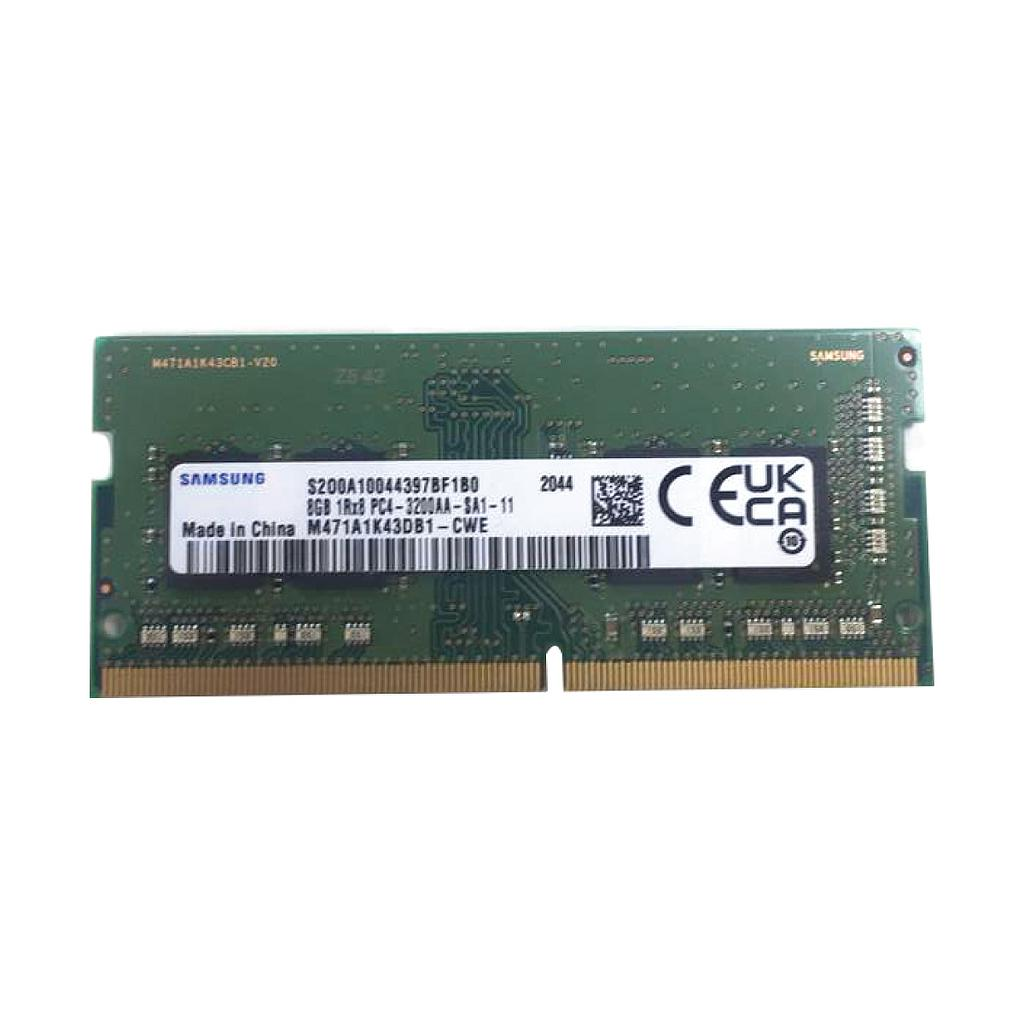 Lenovo 8GB DDR4 3200MHz 1RX8 Laptop RAM