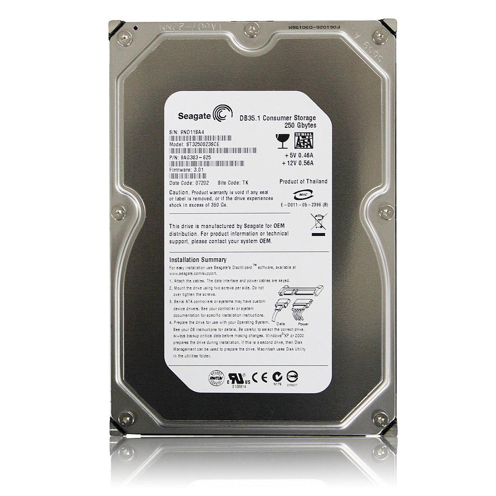 Seagate 250GB IDE 7200RPM Desktop Hard Disk