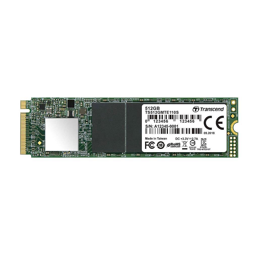 Transcend 512GB M.2 SSD Laptop Hard Disk