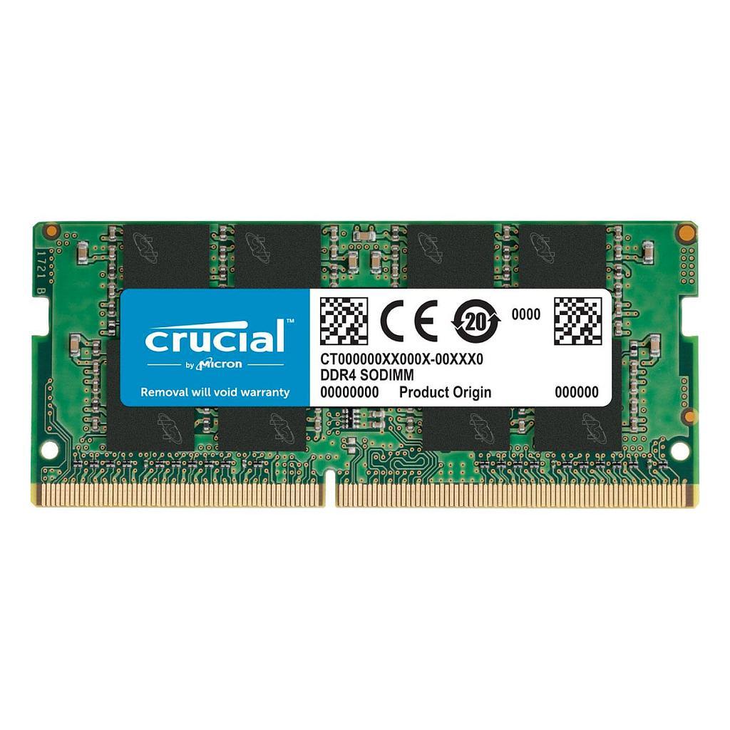 Crucial 4GB DDR4 2666Mhz Laptop RAM