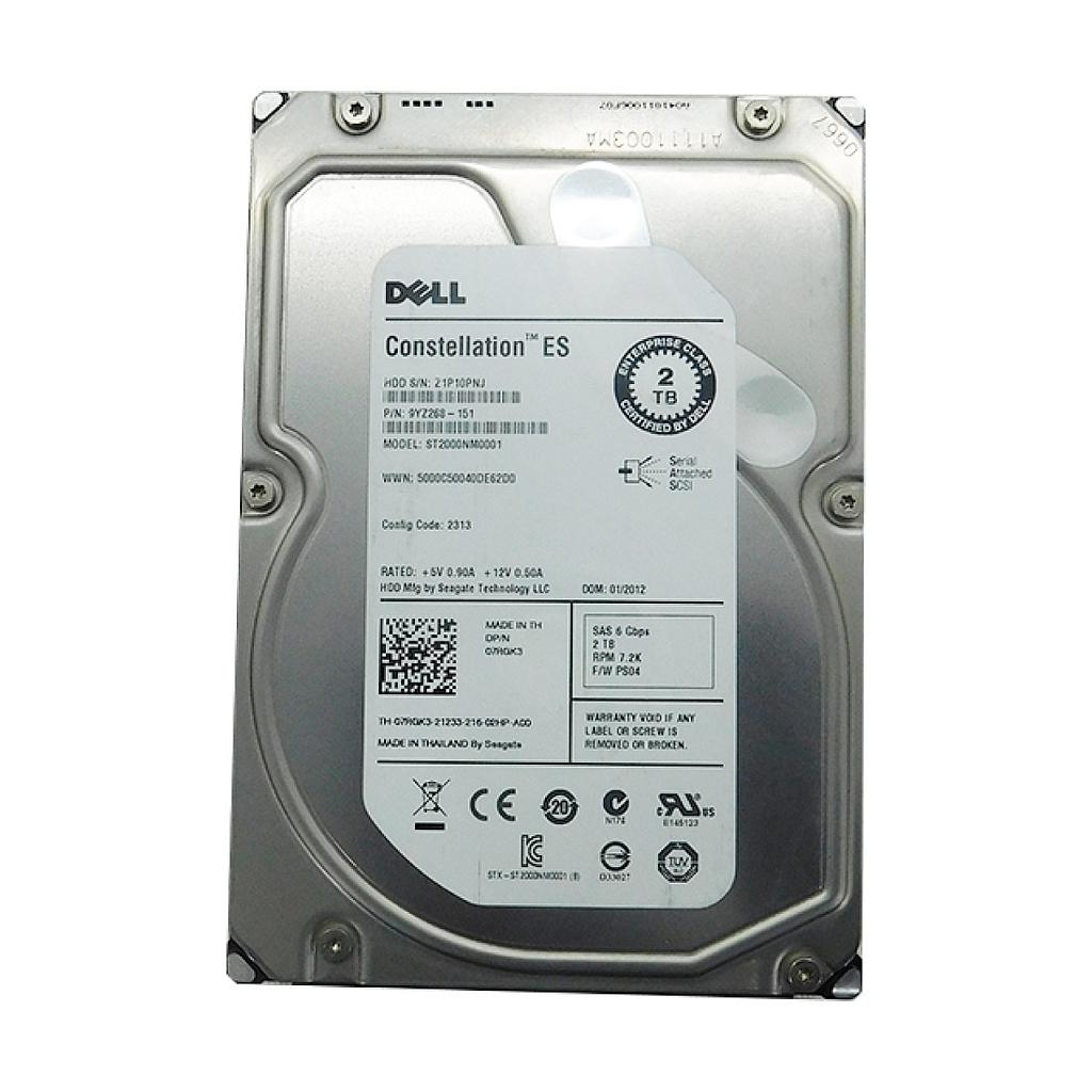 Dell ST20000NM0001 2TB 7200RPM Server Hard Disk